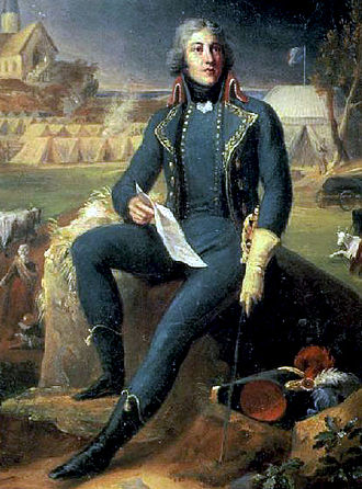 French Directory - General Lazare Hoche defeated a royalist army that landed in Brittany (July 1795)