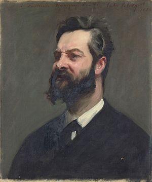 Le Clairon - Louis de Fourcaud (1851-1914), John Singer Sargent, 1884