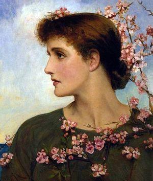 "Louise Jopling - ""Phyllis"" by Louise Jopling"