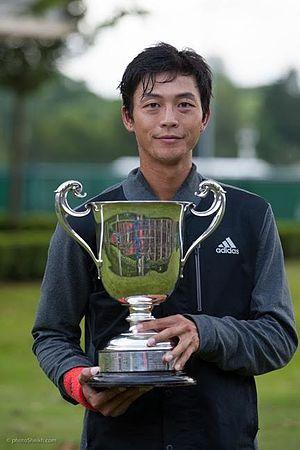 Lu Yen-hsun - Lu at the 2016 Aegon Surbiton Trophy