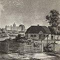 Lublin - Dworek Wincentego Pola, litografia według rysunku N. Ordy (1883).JPG