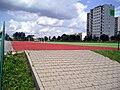 Lublin dzielnica wrotkow boisko szkolne.JPG