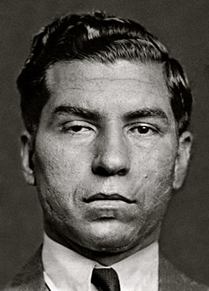 "Five Families - Charles ""Lucky"" Luciano is considered the father of modern organized crime and is responsible for splitting New York into different criminal gangs."