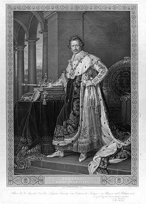 Ludwigshafen - Ludwig I of Bavaria