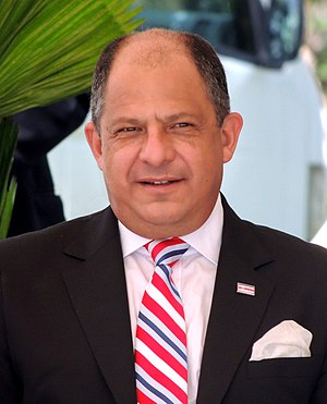 Costa Rican general election, 2014 - Image: Luis Guillermo Solís, Costa Rica 03(cropped)