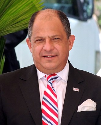 President of Costa Rica - Image: Luis Guillermo Solís, Costa Rica 03(cropped)