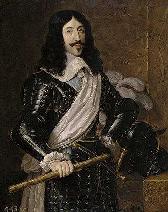 Louis XIII of France - King Louis XIII (by Philippe de Champaigne, 1655)