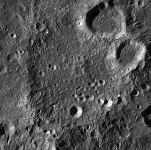Lundmark (crater) - Image: Lundmark LROC