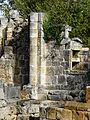 Lussas-et-Nontronneau Fontroubade chapelle colonne.JPG
