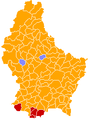 Luxembourg legislative election 2004 communes map.png
