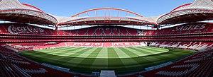 2013–14 S.L. Benfica season - Image: Luz Lissabon