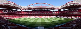 2013–14 UEFA Champions League - Image: Luz Lissabon