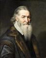 Målning. Porträtt av åttioårig man. Michiel Mierevelt - Hallwylska museet - 86733.tif