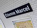 Métro de Paris - Ligne 4 - Étienne Marcel 02.jpg
