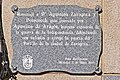 Móstoles, Commemorative plaque to Agustina de Aragón.jpg