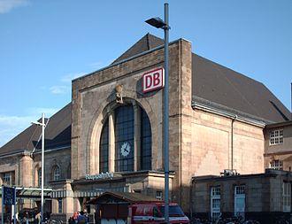 Mönchengladbach Hauptbahnhof - The outside of the station building