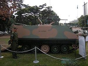 Armamento del Ejército Argentino