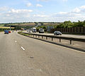 M1 heading South. - geograph.org.uk - 552833.jpg