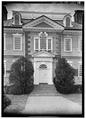 MAIN ENTRANCE, EAST (FRONT) ELEVATION - Mount Pleasant, East Fairmount Park, Philadelphia, Philadelphia County, PA HABS PA,51-PHILA,15-16.tif