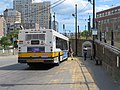 MBTA route 69 bus at Lechmere station, August 2018.JPG