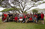 MCBH Aviation ordnance personnel celebrate 92nd birthday 140425-M-TH981-002.jpg