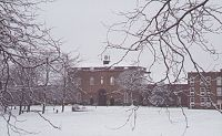 The Main Buildings in Snow