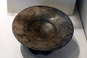 Bucchero - Image: MMA etruscan plate 5