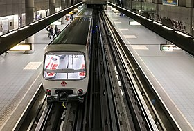 Image illustrative de l'article Gare de Vaise (métro de Lyon)