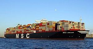 MSC Oscar - Image: MSC Oscar (ship, 2014) 002