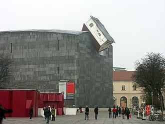 Mumok - Mumok displays Erwin Wurm in 2007