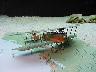 Albatros C.XV - 1/72 scale model of an Albatros C.XV of the Russian Civil War by Buz Pezold