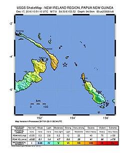 2016年巴布亚新几内亚地震