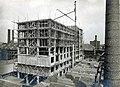 Maastricht, Boschstraat , bouw 1e fase Eiffelgebouw, 1930.jpg