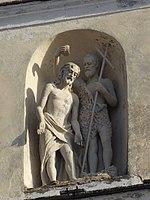 Madrano, chiesa della Decollazione di San Giovanni Battista - Statua.jpg