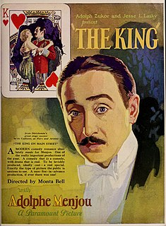 <i>The King on Main Street</i> 1925 film