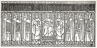 Magnus V of Norway - Illustration for Magnus Erlingssons saga