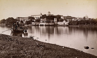 Rewa (princely state) - The Govindgarh palace of the Maharaja of Rewa in 1882