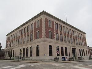 Morris B. Payne - U. S. Post Office, New London, 1932.
