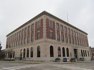 United States Post Office–New London Main United States historic place
