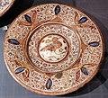 Maiolica ispano-moresca, piatto a lustro, 1450-75 ca.jpg