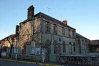 Mairie-école Poisvilliers Eure-et-Loir France.JPG