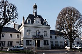 The town hall of Bry-sur-Marne