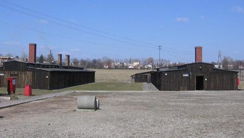 Majdanek - enterace