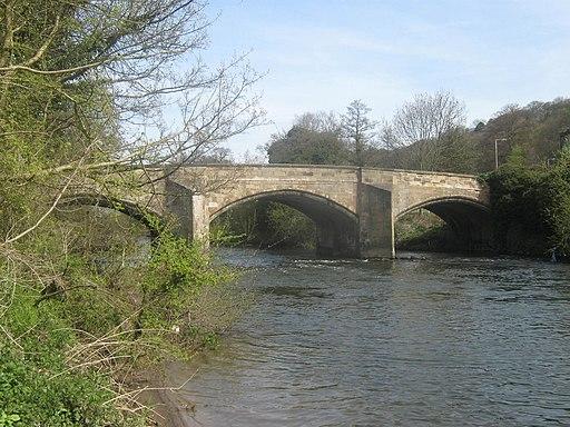 Makeney Road Bridge-River Derwent, Duffield, Derbyshire - geograph.org.uk - 1829059