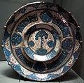 Malaga, bacile con albero della vita, 1400-1450 ca..JPG