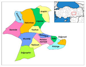 Malatya districts.png