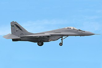 Equipment of the Royal Malaysian Air Force - Image: Malaysia Air Force Mikoyan Gurevich Mi G 29N (9 12SD) edited