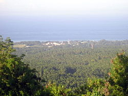 Mambajao, viewed from Mt. Hibok-hibok