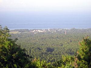 Mambajao - Mambajao, viewed from Mt. Hibok-hibok