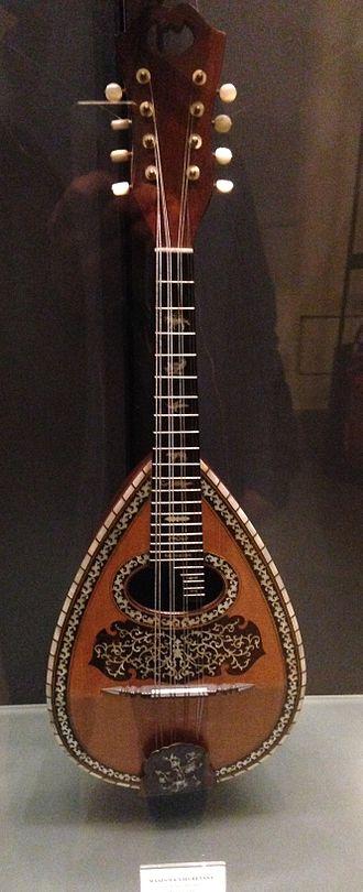 Mandola - Bowl-backed mandola